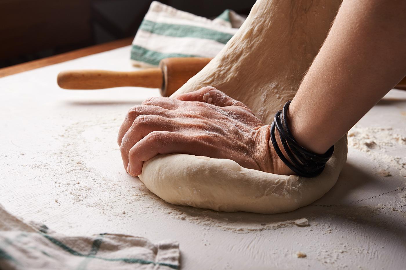 Preparación propio pan